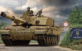 Picture UK, Challenger 2, main battle tank, MBT, British Army, Valery Petelin, MBT