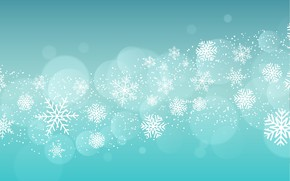 Picture circles, snowflakes, background, pattern