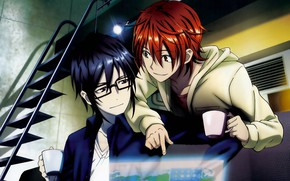 Picture YATA Misaki, K Project, Fushimi, Naruhiko, Project key