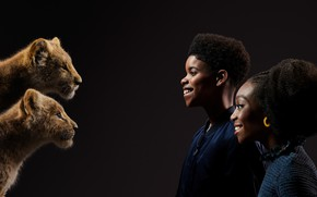 Picture children, actors, the cubs, The Lion King, The Lion King