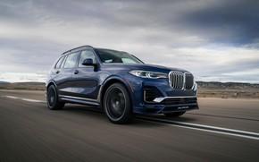 Picture blue, BMW, crossover, SUV, Alpina, 2020, BMW X7, X7, G07, XB7
