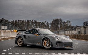 Picture overcast, 911, Porsche, racing track, GT2 RS, 991, Edo Competition, 2020