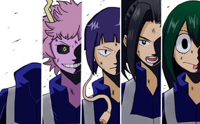 Picture collage, art, characters, My Hero Academia, Boku No Hero Academy, My Hero Academy