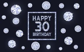 Picture diamonds, Birthday, 30 years