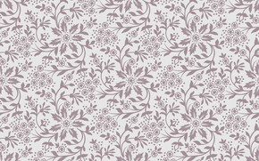 Picture flowers, background, beige