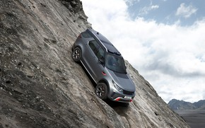 Picture Land Rover, Discovery, 4x4, 2017, V8, SVX, 525 HP, on the slope, 5 L.