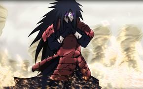 Picture look, Naruto, Madara Uchiha