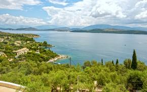 Picture sea, sea, Greece, greece, corfu, Corfu, kerasia