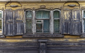 Picture house, window, naturalism