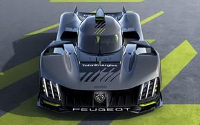 Picture Peugeot, hypercar, hypercar, 2022, 9X8, Le Mans Hypercar
