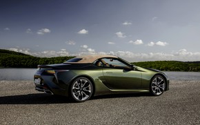 Picture Lexus, convertible, the soft top, 2021, LC 500 Convertible