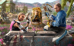 Picture The game, Ubisoft, Game, Far Cry: New Dawn