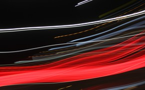 Picture light, lines, blur, abstraction, 4k ultra hd background, long-exposure