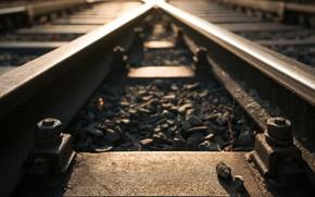Picture macro, background, railroad