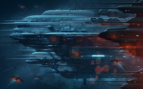 Picture Space, Fantasy, Art, Space, Art, Spaceship, Station, Fiction, Spaceship, Spacecraft, Transport & Vehicles, Brian Taylor, …