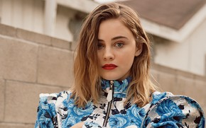 Picture look, girl, face, actress, lips, Josephine Langford