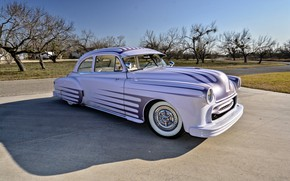 Picture Coupe, Pontiac, Old, 1951, Chieftain