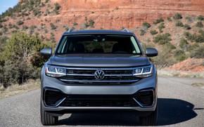 Picture shadow, Volkswagen, before, SUV, Atlas, 2020, gray-silver