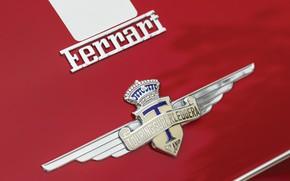 Picture Ferrari, Coat of arms, Classic, 1950, Classic car, Icon, Barchetta, Sports car, Ferrari 166 MM …