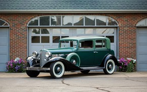 Picture auto, retro, Cadillac, V12, 370-C