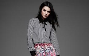 Picture girl, model, blouse, Kendall Jenner