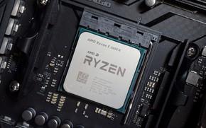Picture AMD, processor, Corn, Ryazan, RYZEN, Ryazhenka, AM4, 3600X, Ryzen 5