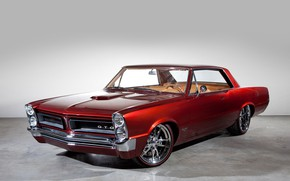 Picture Red, Pontiac, GTO, Old