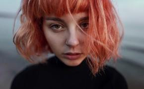 Picture girl, portrait, piercing, Aleks Five, Anya Chernoff