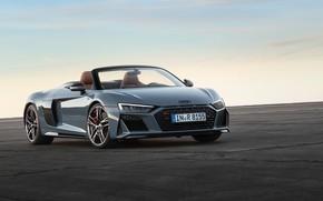 Picture Audi R8, Spyder, V10, 2019