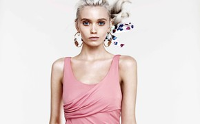Picture look, model, makeup, actress, hair, Abbey Lee Kershaw, Abbey Lee Kershaw