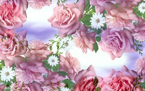 Picture Graphics, Flowers, Roses