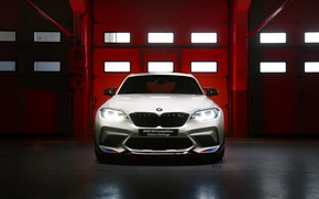 Picture BMW, front view, Competition, 2019, BMW M2, Edition Heritage
