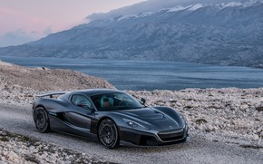 Picture supercar, 2018, Rimac, electric car, C-Two