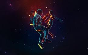 Picture Girl, Stars, Nebula, Style, Girl, Astronaut, Astronaut, Art, Stars, Space, Art, Style, Nebula, Encounter, Astronaut, …