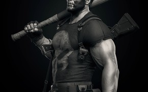 Picture weapons, Punisher, Marvel, bit, Keos Masons