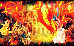 Picture guys, One Piece, crossover, Fairy Tail