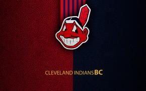 Picture wallpaper, sport, logo, baseball, Cleveland Indians