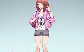 Picture girl, My Hero Academia, Boku No Hero Academy, My Hero Academy, Uraraka, Ochako