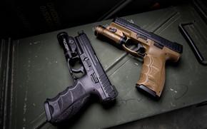 Picture background, guns, HK VP9