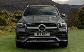 Picture grass, mountains, nature, Mercedes-Benz, space, SUV, AMG, Hybrid, Line, GLE-Class, Plug-In, Mercedes-Benz GLE-Class Plug-In Hybrid …