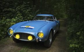 Picture Blue, Sportcar, Rally Car, Ferrari 250 GT Berlinetta