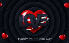 Picture love, blue, red, background, texture, love, Valentine's day, hearts