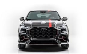 Picture design, black, Audi, black, design, crossover, crossover, Mansory, kit, Mansory, body kit, Audi RSQ8