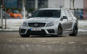 Picture C63 AMG, Mercedes - Benz, S204, WAGON