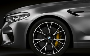 Picture wheel, BMW, 2018, the front part, M5, V8, F90, M5 Competition