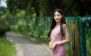 Picture girl, sweetheart, Asian