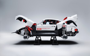 Picture 911, Porsche, 964, AWD, stand, Singer, carbon fiber, twin turbo, 2020, panel, 2021, Singer Vehicle …