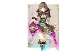 Wallpaper girl, cell, frame, Sinoalice