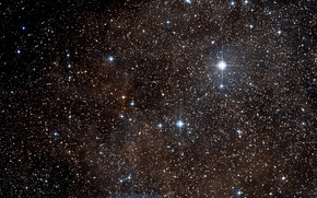 Picture Stars, Dust, RCW 38, Gas, Wide Field View, Digitized Sky Survey, Constellation of Vela, Surroundings, …