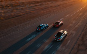 Picture speed, Mustang, Ford, Shelby, GT500, the view from the top, 2019